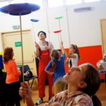 Circus classes school holiday program
