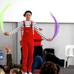 Clown magician in auckland