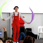 Clown magician in auckland